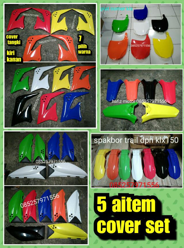 harga Cover set klx 150 cover body klx Tokopedia.com