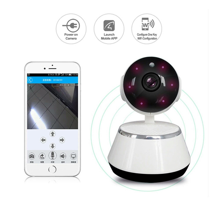 harga Wifi smart camera cctv + kartu memori 32gb Tokopedia.com