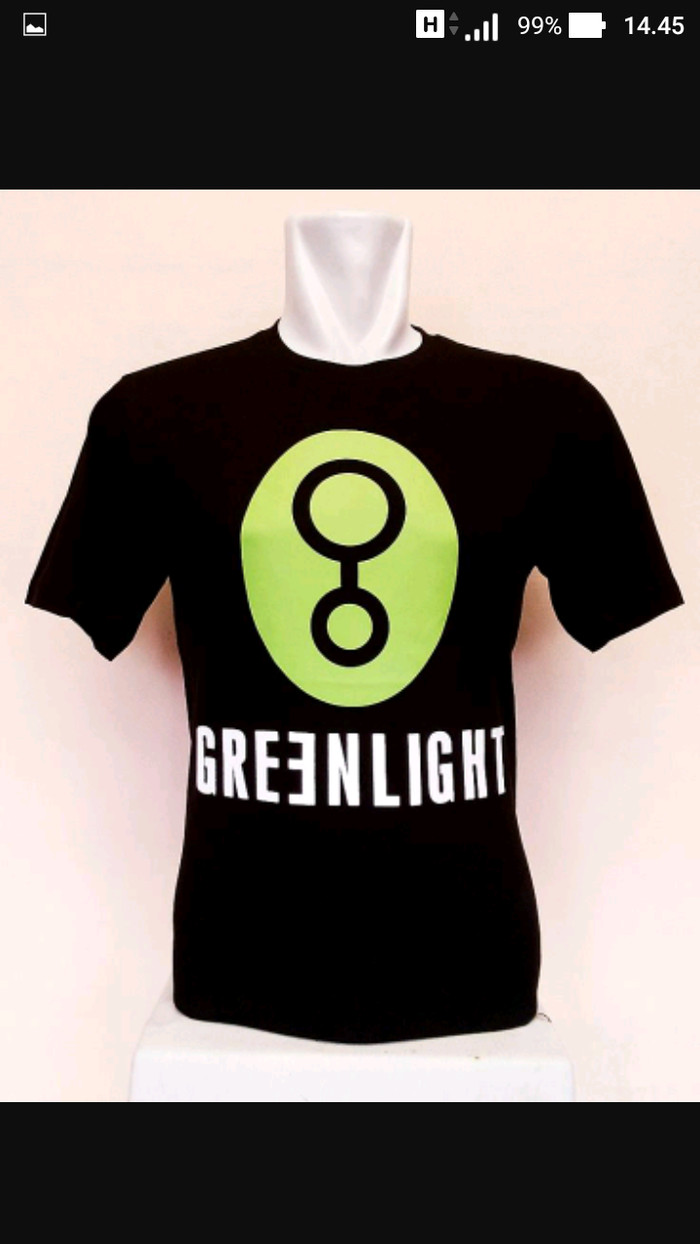 kaos/baju/t-shirt GREENLIGHT//ARIEL SERIES