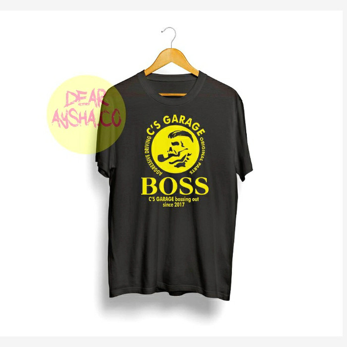 5373239f7 Jual T-shirt garage boss - kembarshop13 | Tokopedia
