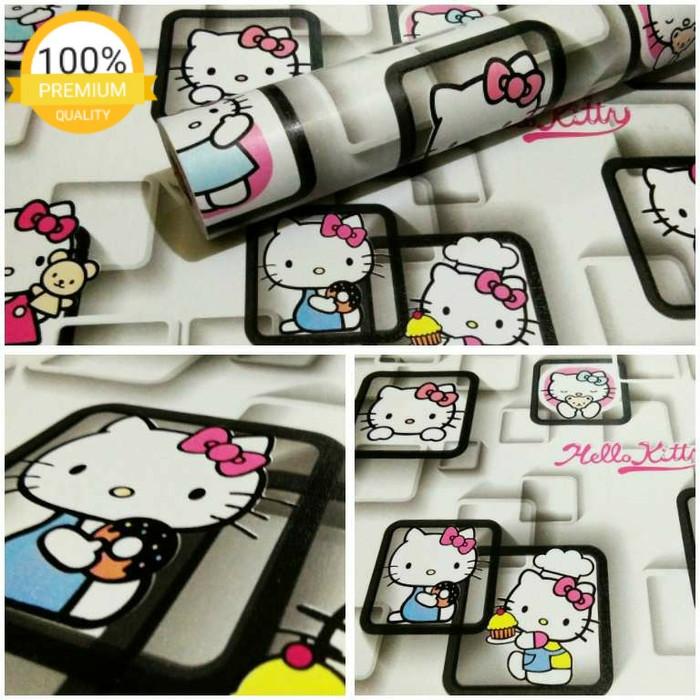 Jual Wallpaper Sticker Dinding Hello Kitty Kotak Hitam Putih 10m Jakarta Utara Mahira Fashion Tokopedia