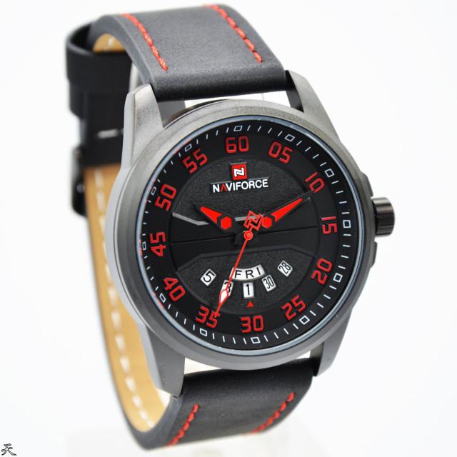 harga Jam tangan pria / cowok naviforce kulit 9124mb rb Tokopedia.com