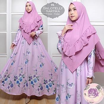 Jual Syari Baloteli Sartika Baju Gamis Fashion Muslim Ukuran Jumbo