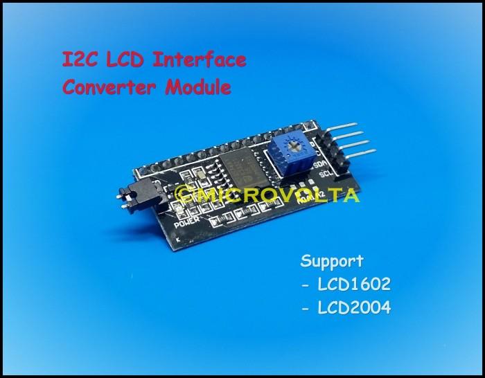 Foto Produk I2C LCD Interface Converter Module dari microvolta