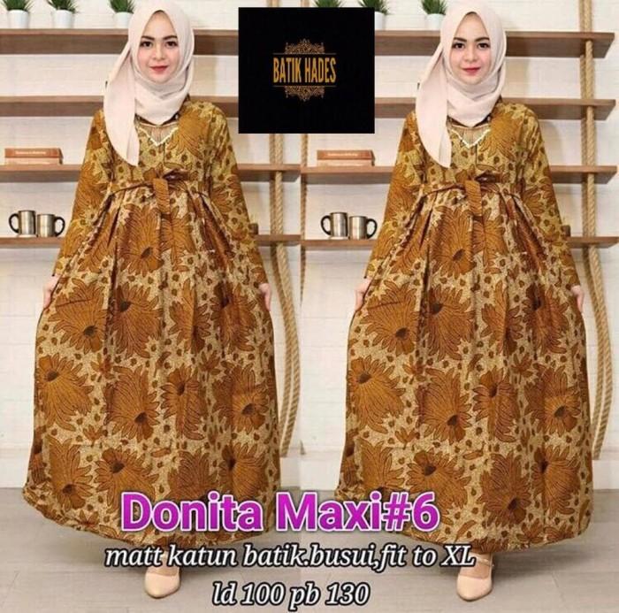 Jual Wanita Muslim Gamis Batik Modern Baju Batik Syari Akc Online