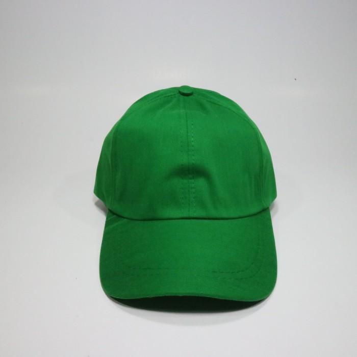 Jual Topi Polos Hijau Harga Murah Bahan Twill Rell - jodandoh ... 63339fef2e