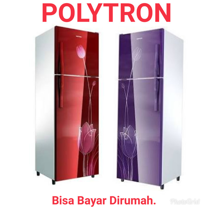 Kulkas Polytron 2 Pintu 21STR STV With Handle