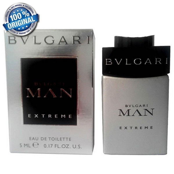 cbb374e2b0e Jual Bvlgari Parfum Original Bvlgari Man Extreme (Miniatur ...