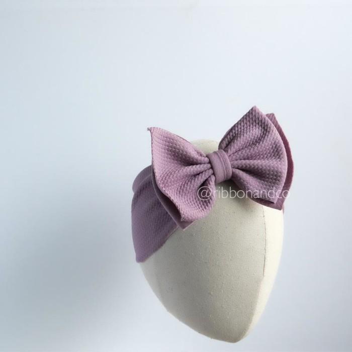 harga Ashley bow medium purple / pita anak / pita bayi / ribbonandco Tokopedia.com