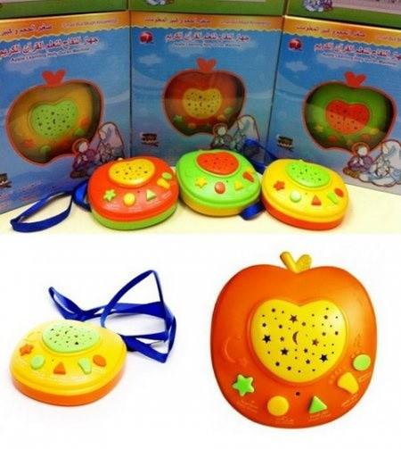 harga Apple learning holy quran ( 6 tombol ) - mainan edukasi anak Tokopedia.com