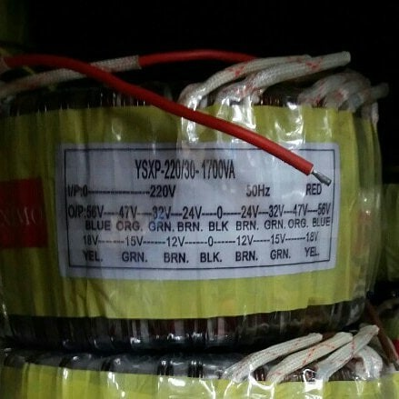 harga Travo /trafo toroid donat maximo 1700va 30a ct-56v Tokopedia.com