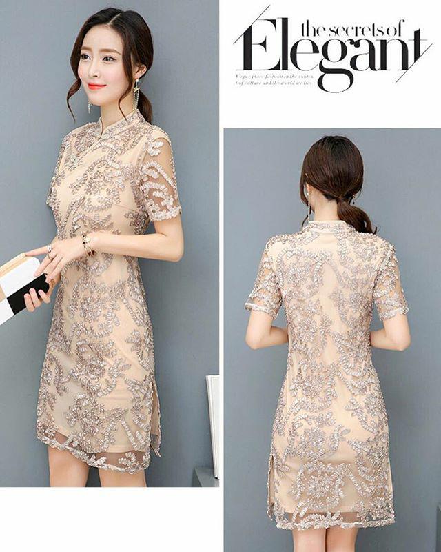 harga Ruby shanghai dress import Tokopedia.com