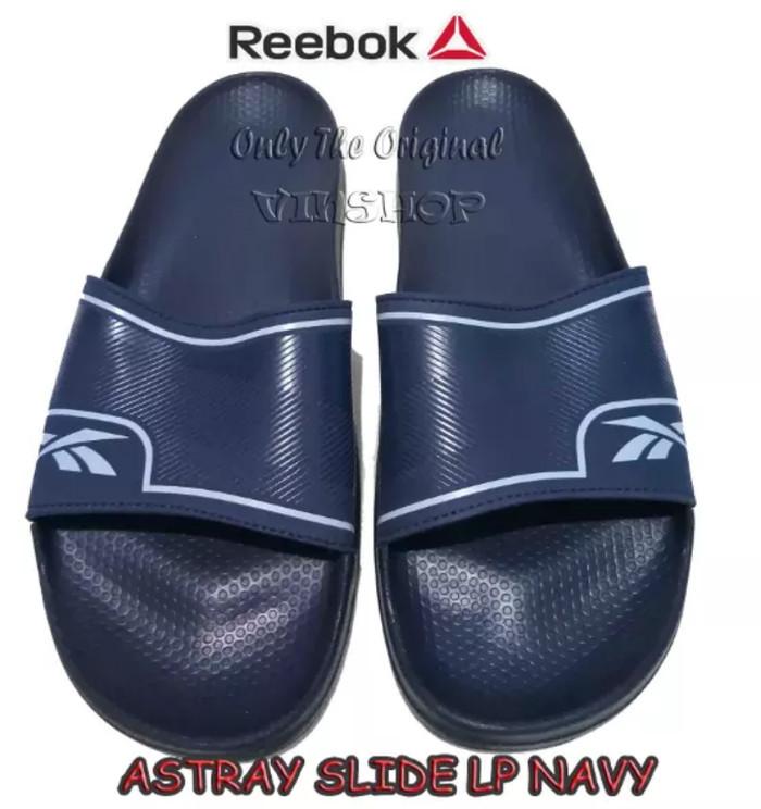 harga Sandal Reebok Astray Slide Lp, Navy . Cm9452 Tokopedia.com