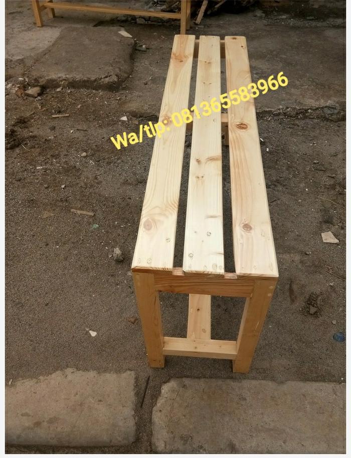 harga Kursi panjang/kursi kayu/tempat duduk kayu/bangku kayu/kursi tamu Tokopedia.com