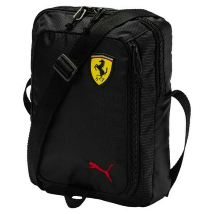 harga Tas puma ferrari fanwear portable shoulder bag black original Tokopedia.com