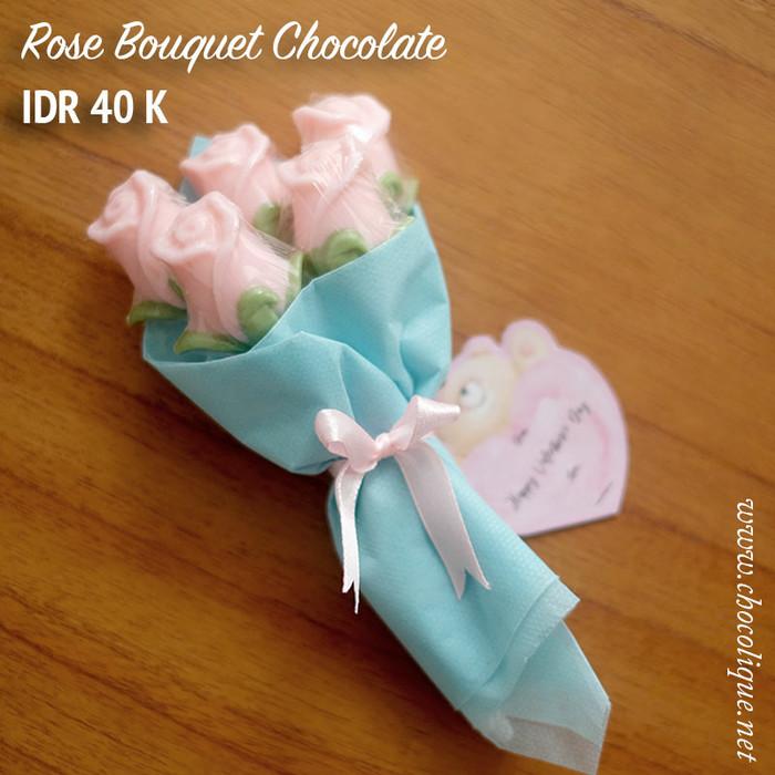 harga Rose Bouquet Chocolate Valentine Tokopedia.com
