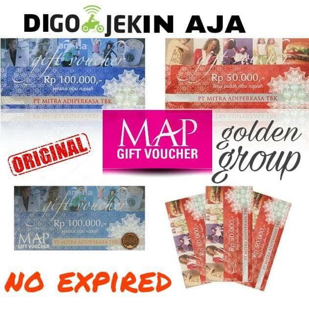 Voucher map gift voucher 100.000 .