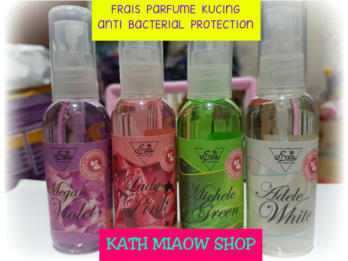 harga Frais parfume kucing 60ml parfum anti bacterial protection Tokopedia.com