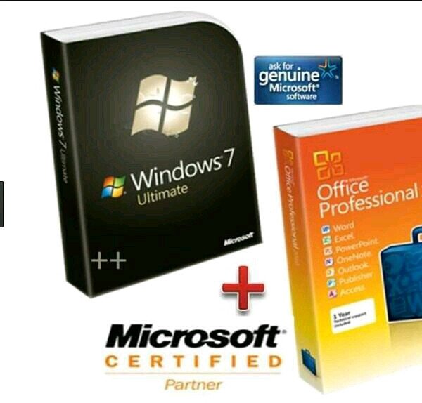 harga Lisensi original windows 7 ultimate & office pro plus 2016 Tokopedia.com