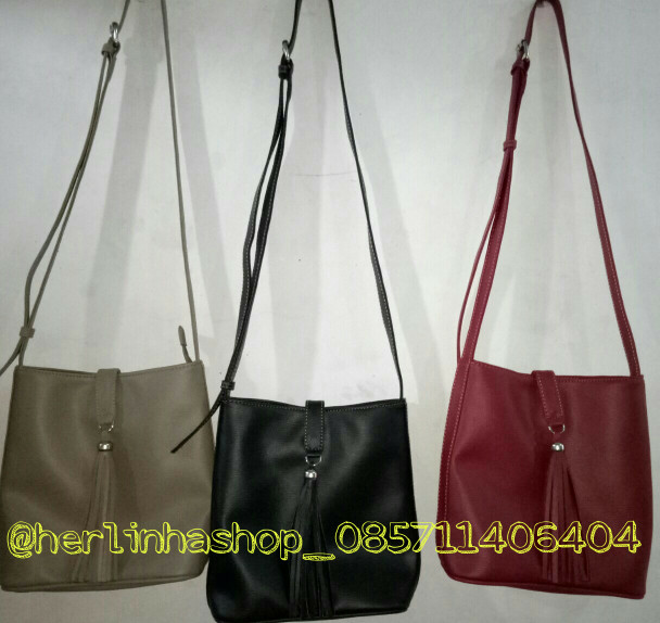 Jual slempang bag kulit tajur - herlinhashop  68b03b71cd