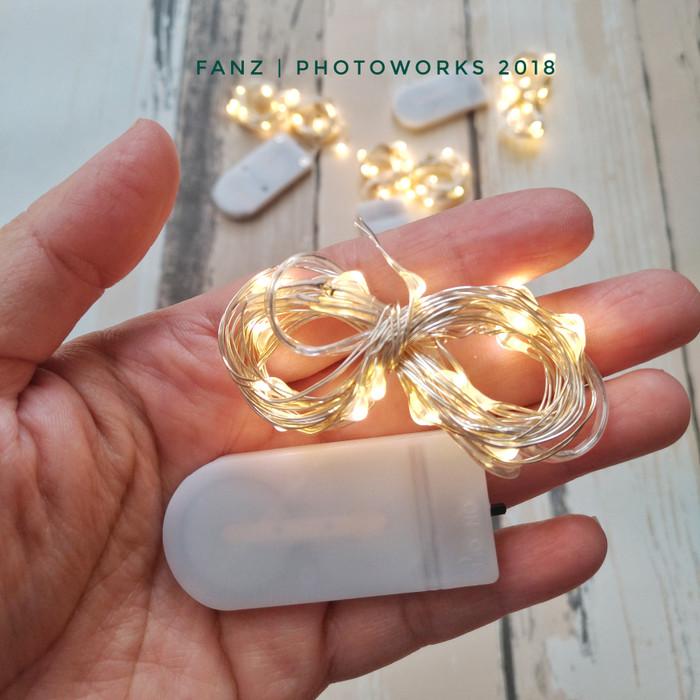 harga Wire led 20 leds untuk properti fotografi Tokopedia.com