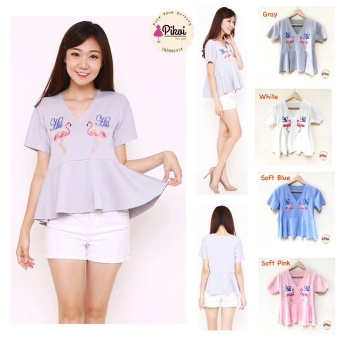 Info Baju Atasan Bordir Pink Hargano.com