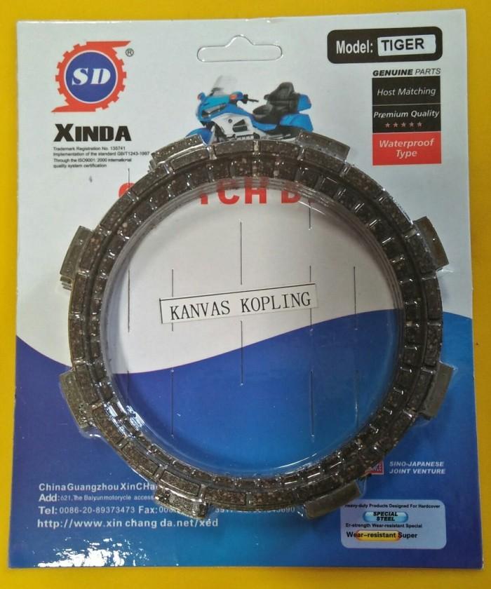 harga Kampas kopling honda tiger -onderdil motor by xinda Tokopedia.com