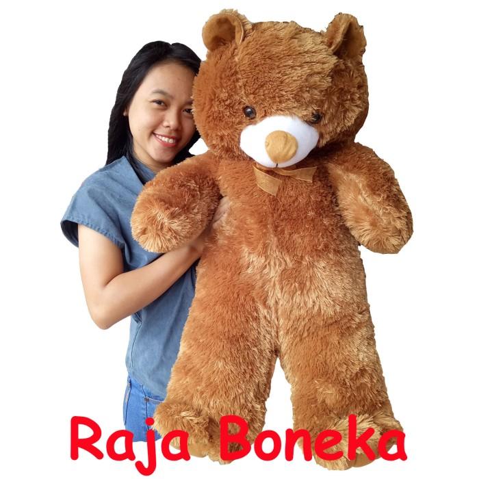 harga Boneka beruang teddy bear jumbo 90cm coklat Tokopedia.com