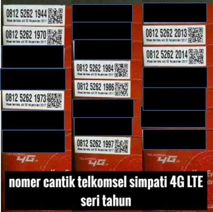 Harga Telkomsel Simpati Nomor Cantik 0812 1919 310 Dan Ulasannya Source · kartu perdana simpati Telkomsel