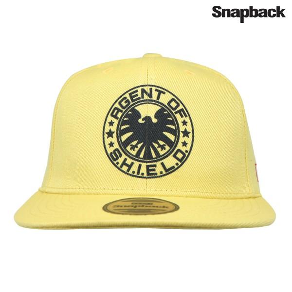 snapback topi hiphop dewasa marvel shield yellow 3a301c9a74