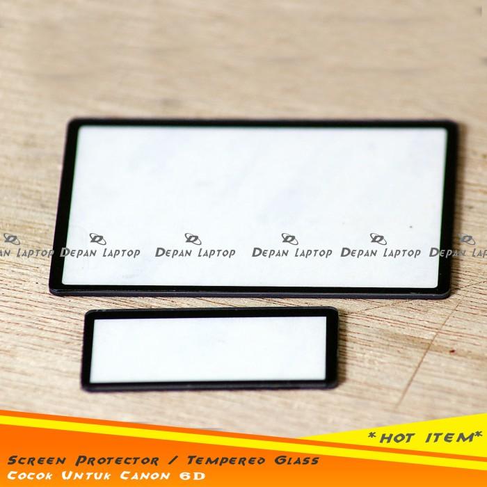 harga Tempered glass screen protector pelindung layar lcd monitor canon 6d Tokopedia.com