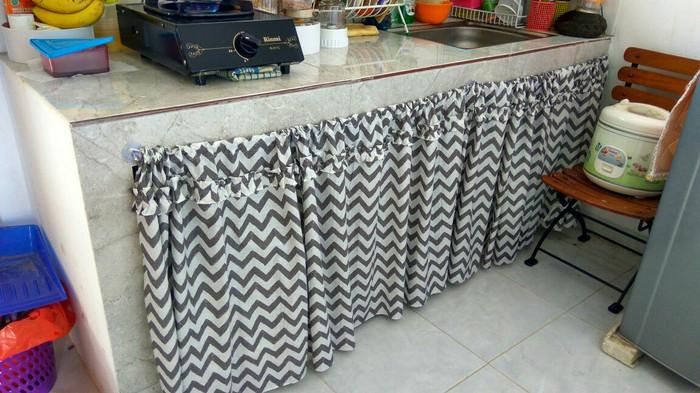 Tirai Korden Gorden Dapur Murah