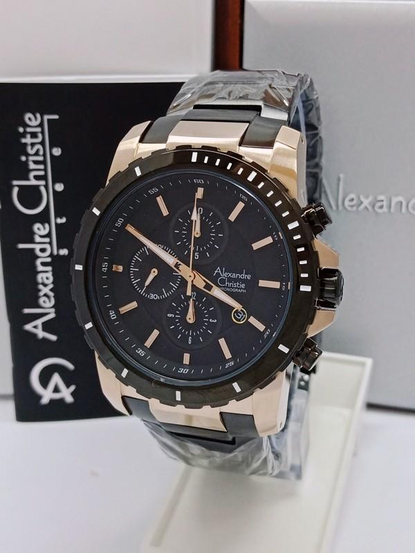 harga Jam tangan pria original alexandre christie ac 6141 mc blbz Tokopedia.com