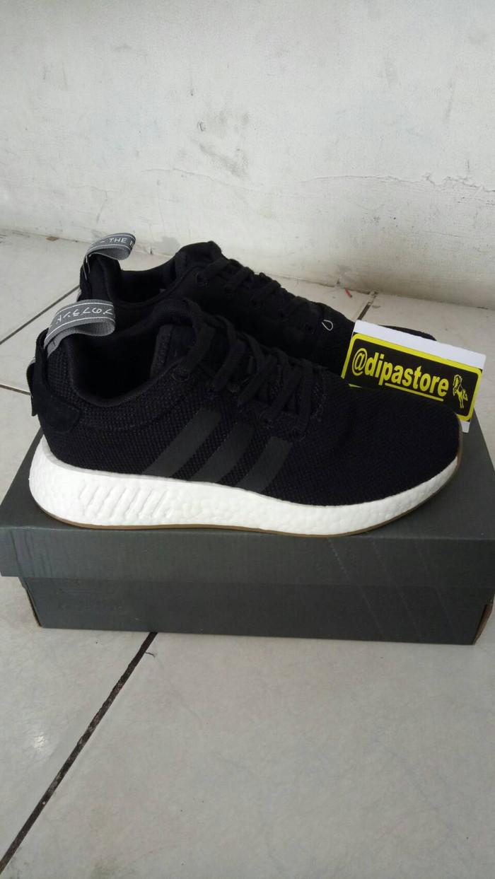 1d8c504e0e073 Jual Adidas Nmd R2 Textile Black White UA Real Basf Boost ...