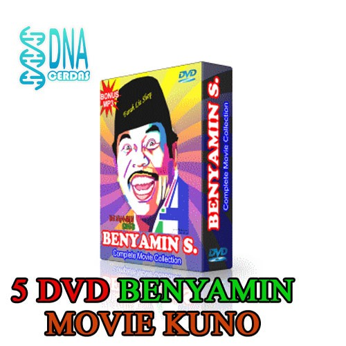 Jual Paket Kumpulan Koleksi Film Benyamin S Movie Collection Pack