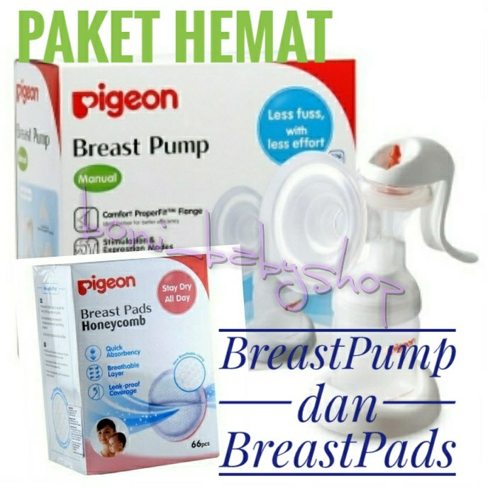 Pigeon Breast Pads Honeycomb 66pcs 66 pcs Breastpads Penyerap ASI NB