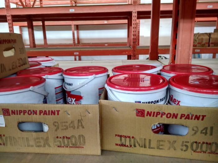 harga Vinilex nippon paint 5kg / cat tembok interior Tokopedia.com