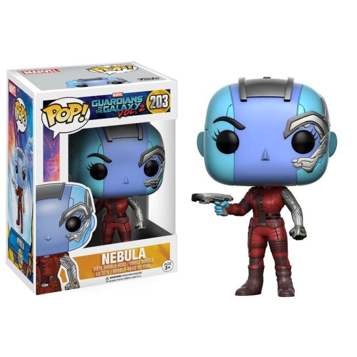 Funko pop! marvel guardians of the galaxy vol. 2 - nebula 203