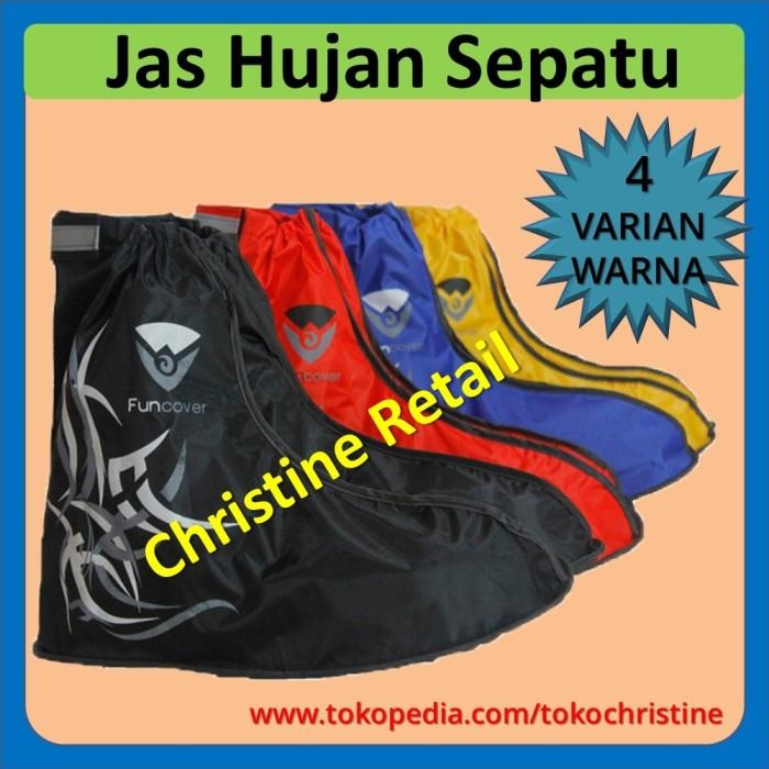 Jas Hujan Sepatu Sarung Sepatu Rain Cover Shoes Anti Air Keren Unik !!