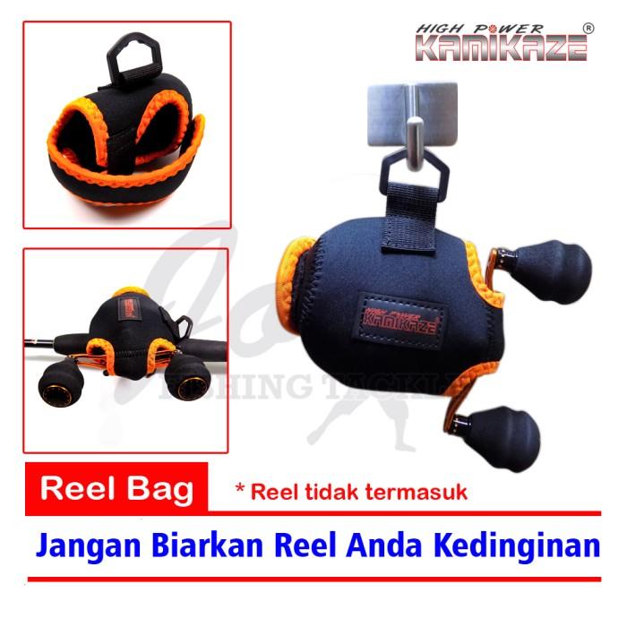 harga Kamikaze Bc Reel Cover Jugy 102 - Tas Reel Pancing Bait Cast Reel Bag Tokopedia.com