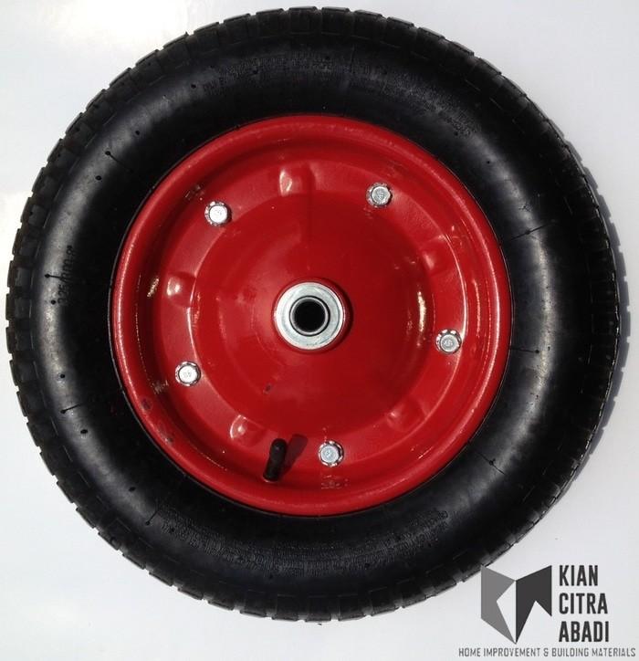 harga Roda gerobak pasir ban hidup ( ada ban dalam bisa di ganti ) Tokopedia.com