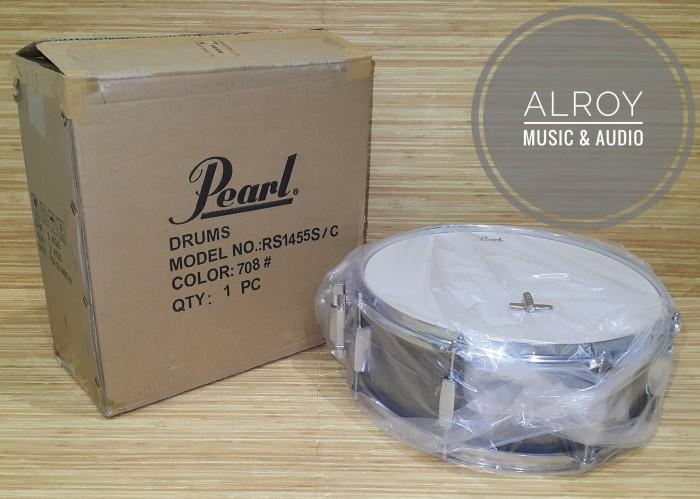 harga Snare drum pearl rs1455s/c grindstone sparkle (708) Tokopedia.com