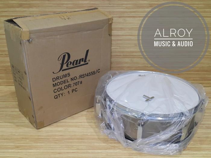 harga Snare drum pearl rs1455s/c bronze metallic (707) Tokopedia.com