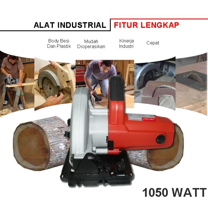 harga Eelic meg-n583hd mesin gergaji untuk pemotong kayu 185mm 1050 watt Tokopedia.com