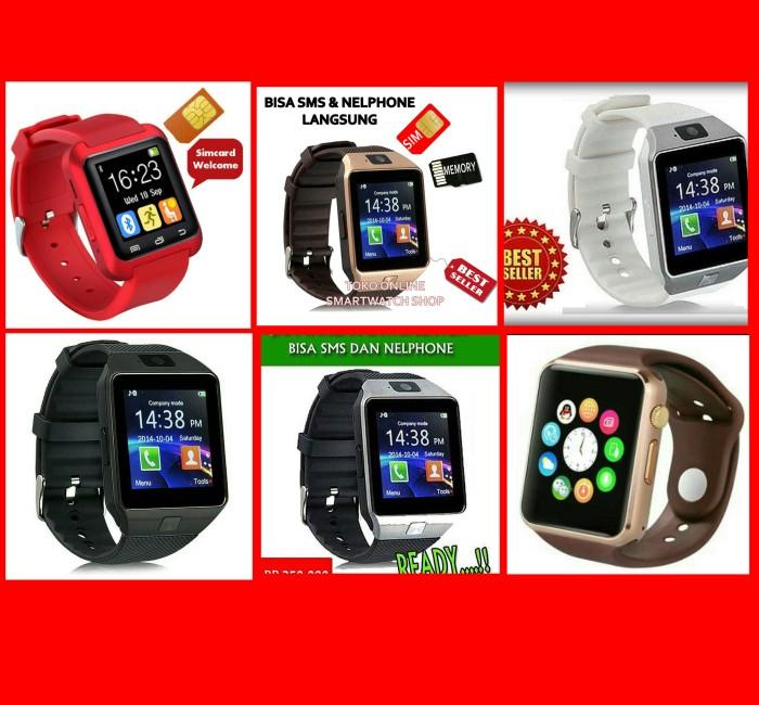 harga Jam tangan pintar android smartwatch support sim & memory card Tokopedia.com