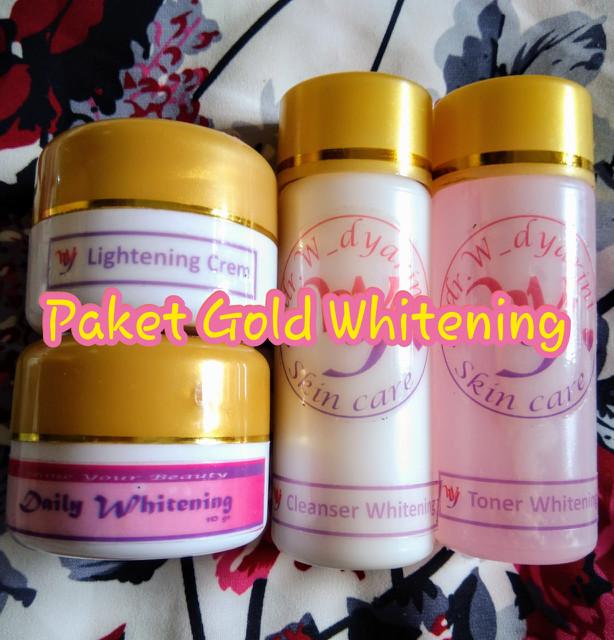 harga Paket whitening gold dr. widya / dr. widyarini skincare Tokopedia.com