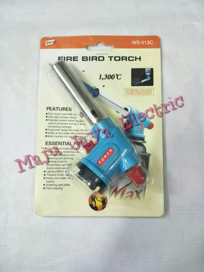 harga Kepala korek gas fire bird blow torch pelebur 1300c ws-513c burner Tokopedia.com