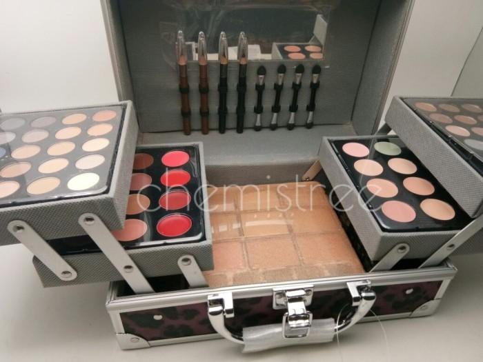 palette eyeshadow blush lipliner eyebrow pencil pilihan case cantik
