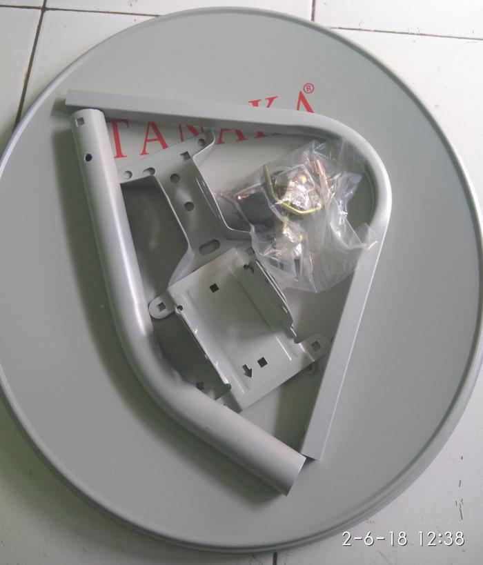 harga Odu dish parabola mini tanaka 45cm ninmedia tanpa kabel dan lnb Tokopedia.com