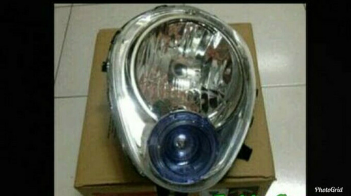 Lampu Depan Reflektor Headlight Honda Scoopy Karbu Karburator Old